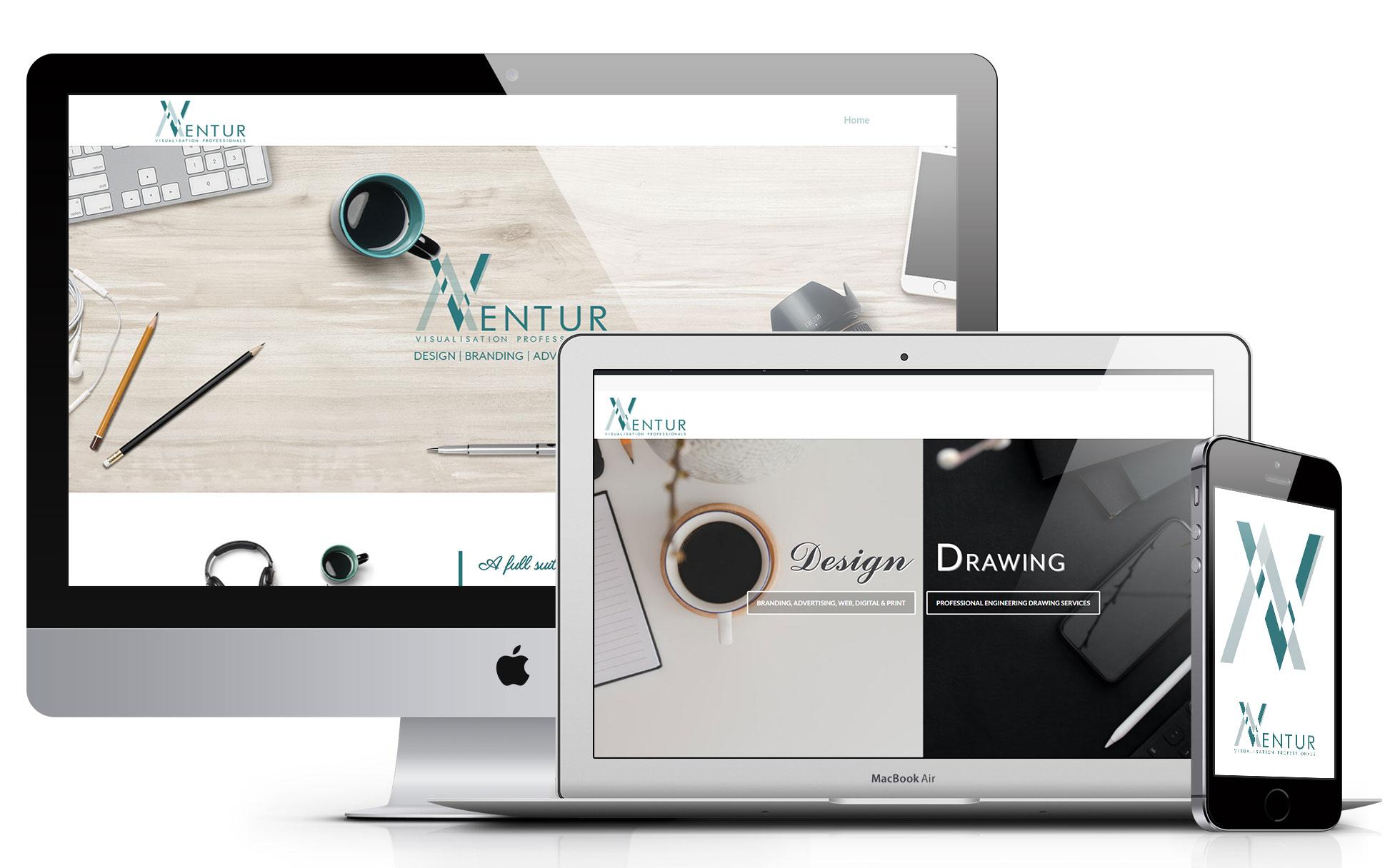 Aventur Graphic Website Design Ireland